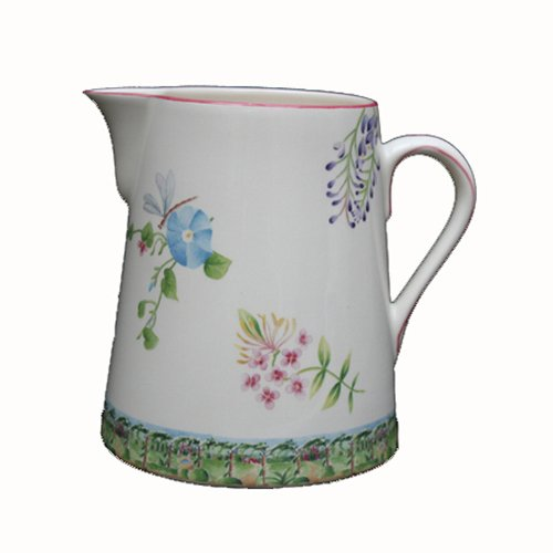 Pot-conique-vent-de-fleurs-st-clement-faïence