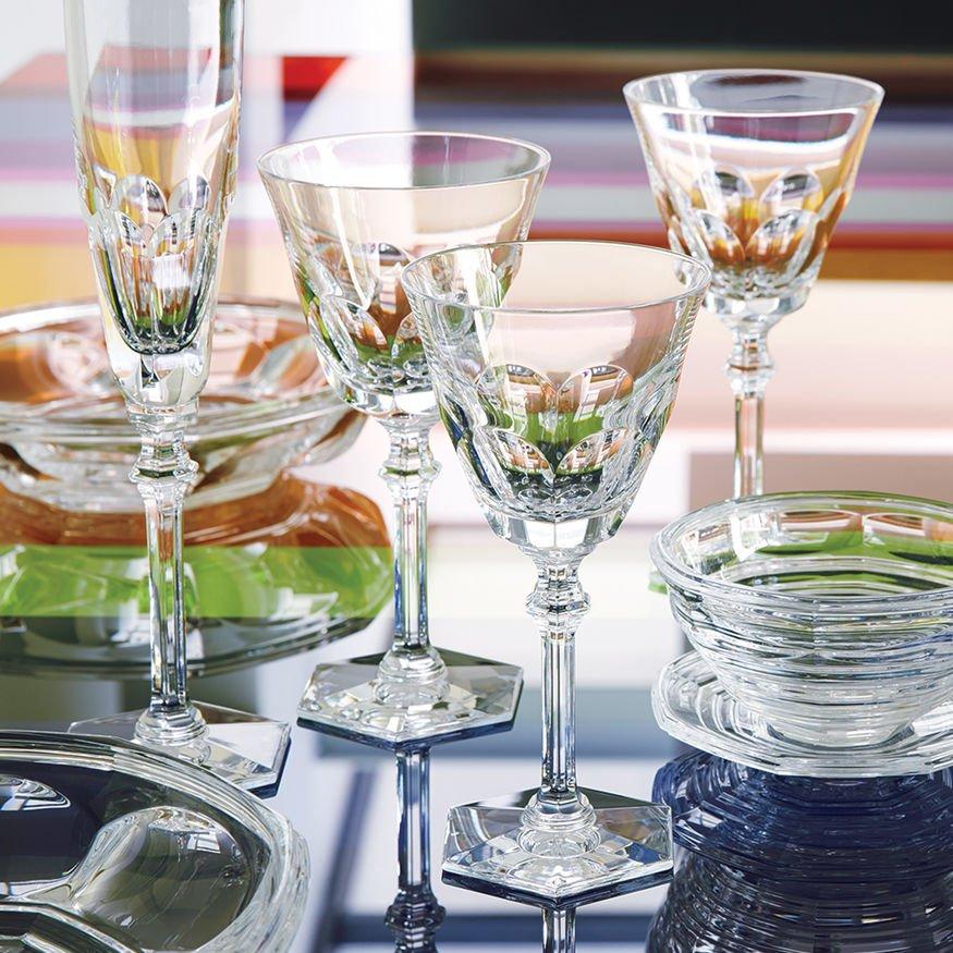 Eve harcourt glass baccarat vessiere cristaux - Service harcourt baccarat ...