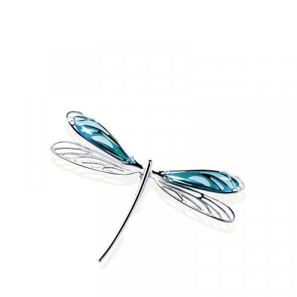 Pendentif-Libellule-lalique-turquoise