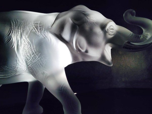 éléphant-sumatra-Lalique
