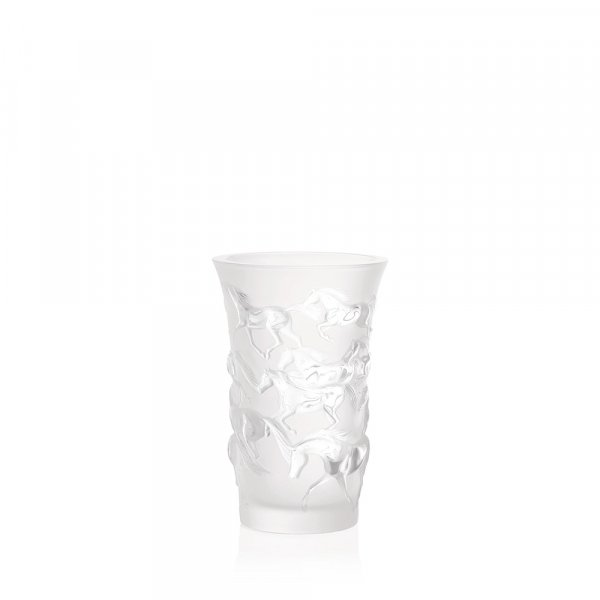 Vase-Mustang-crystal-Lalique