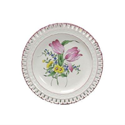 assiette-plate-reverbere-faience-luneville