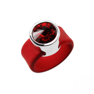 bague-ronde-crystalpbague-ovale-silicone-cristal