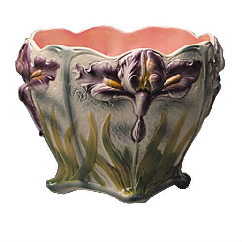 Cache-pot-iris-Barbotine