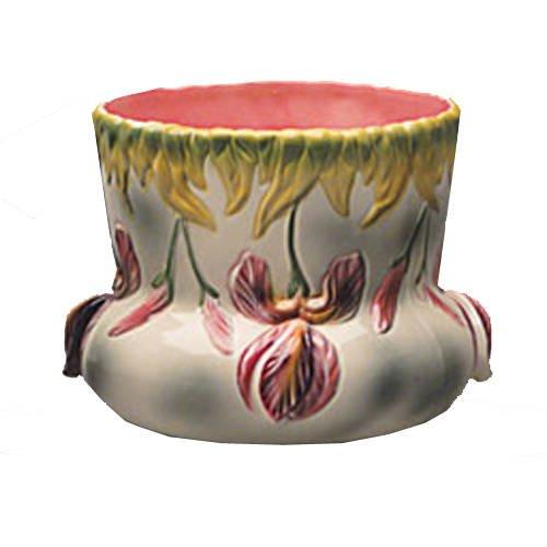 cache pot iris pm faience barbotine vessiere cristaux. Black Bedroom Furniture Sets. Home Design Ideas