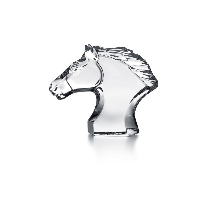 T te de cheval baccarat vessiere cristaux - Image tete de cheval ...