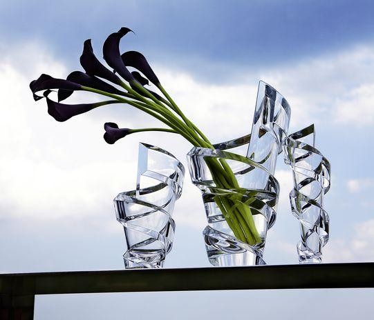 spirale vase baccarat size s vessiere cristaux. Black Bedroom Furniture Sets. Home Design Ideas