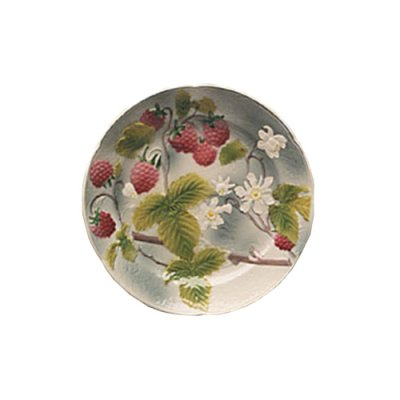 assiette-framboise-barbotine-faience