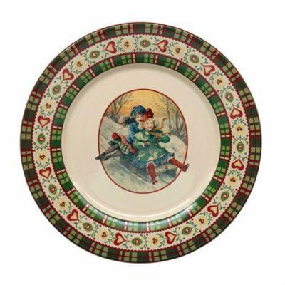 assiette-plate-faience-niderviller