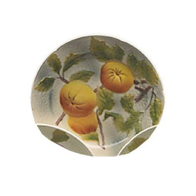 assiette-pomme-barbotine-faience