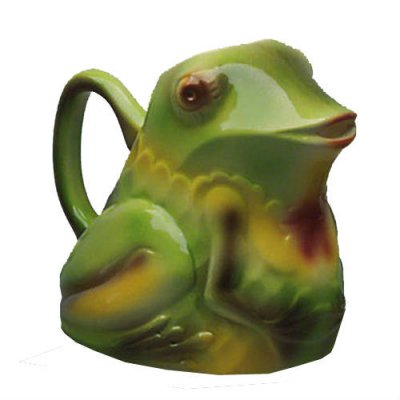 pichet-grenouille-faience-barbotine