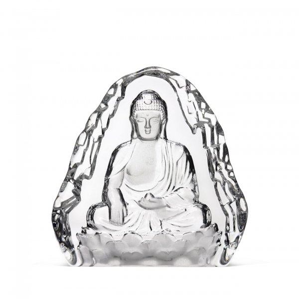 sculpture-Bouddha-cristal-clair