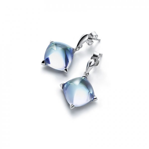 Baccarat-earrings-silver-medicis
