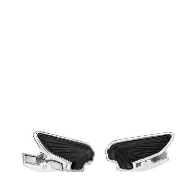 Black-victoire-mascottes-Lalique-cufflinks