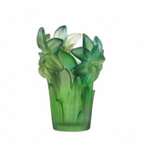Daum-Vase-Amaryllis-Turquoise-daum-crystal