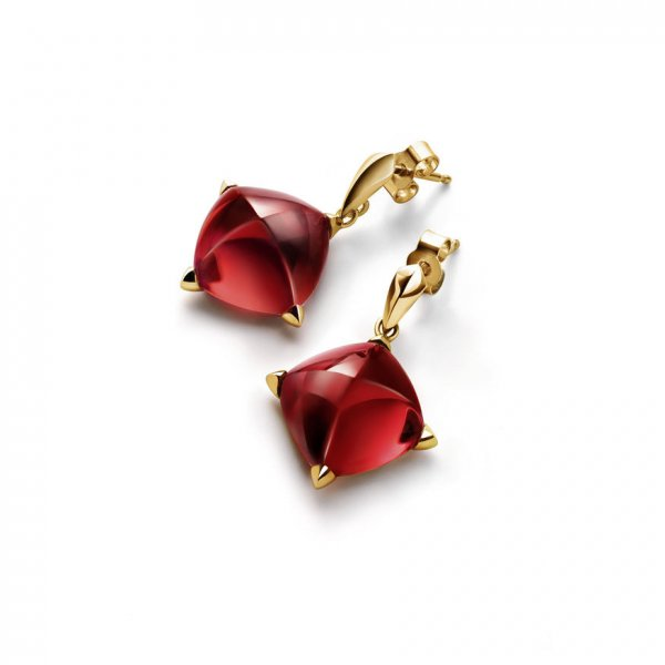 Red-earrings-medicis-baccarat