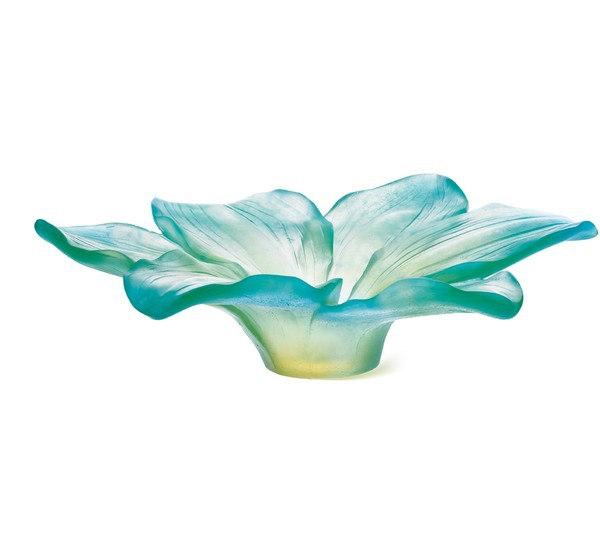 amaryllis-coupe-mm-turquoise-daum