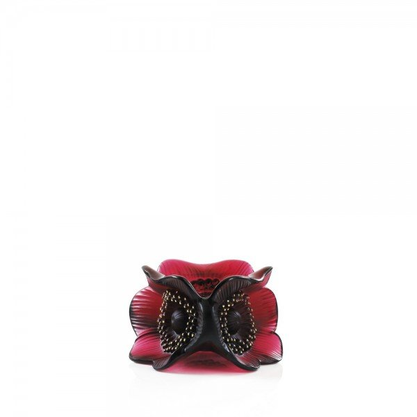 bougeoir-anemone-rouge-lalique