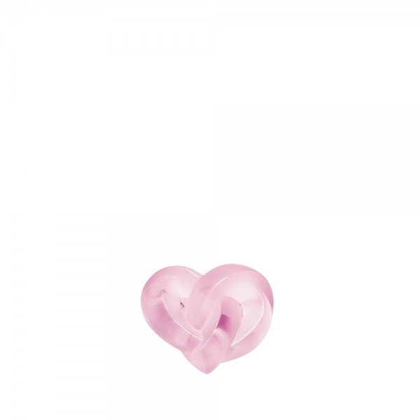 coeurs-presse-papier-entrelaces-rose-lalique