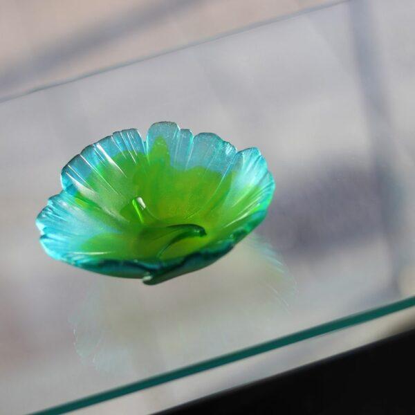 coupelle en cristal Ginkgo Daum