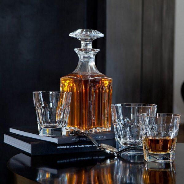 service cristal whisky Harcourt de Baccarat