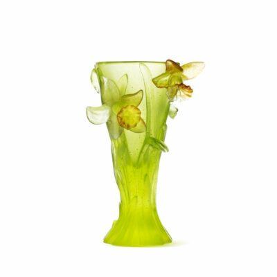 vase-jonquille-pate-de-cristal-daum