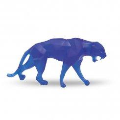 Panthere-cristal-bleu-daum-richard-orlinski