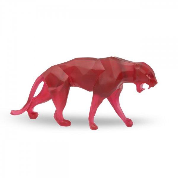Panthere-cristal-rouge-daum-richard-Orlinski