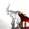 elephant blanc cristal daum France