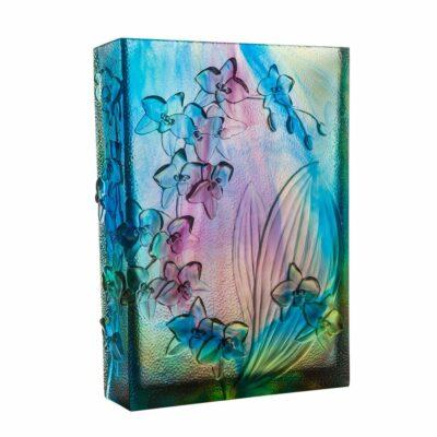 vase magnum orchidee daum france edition limitee