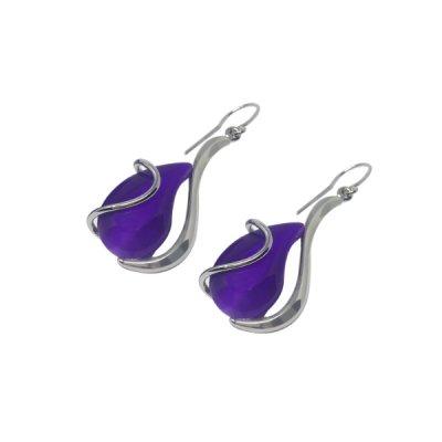 Boucles-oreilles-cristal-violet