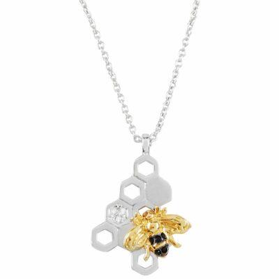 Pendentif-ruche-abeille-cristal