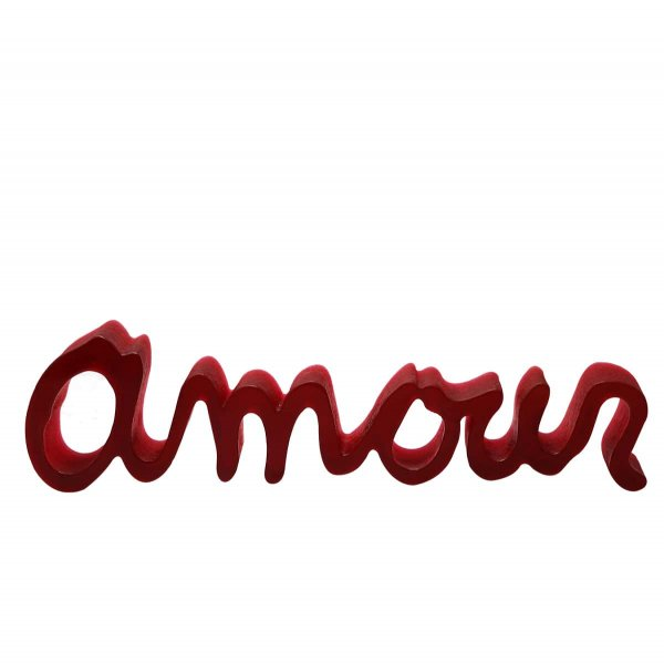 Sculpture-amour-ben-rouge-Daum-