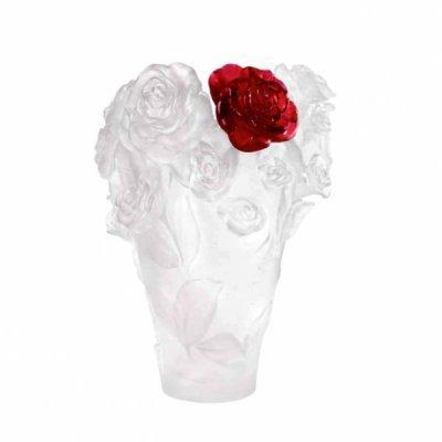 Vase-rose-fleur-rouge-daum