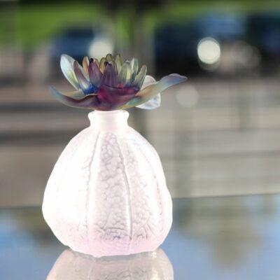 flacon de parfum pate de cristal physalis daum france