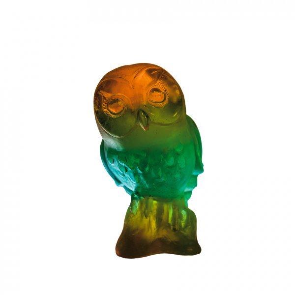 Edwige-chouette-verte-ambre-Daum