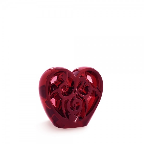 music-is-love-heart-sculpture-red