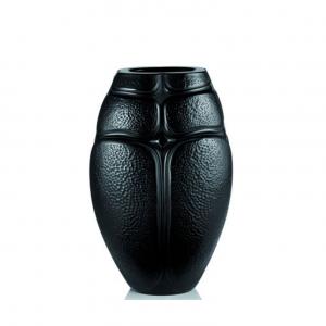 vase-scarabées-noir-cristal-lalique