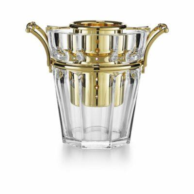 Harcourt-seau-champagne-dore-cristal-Baccarat