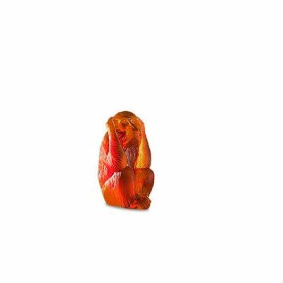 singe-sagesse-sourd-cristal-daum
