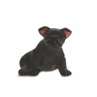 Mini-chiot-noir-cristal-daum