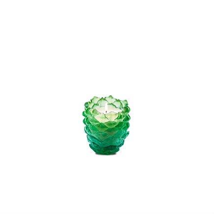 bougie-verte-pomme-de-pain-cristal-daum