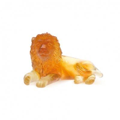 lion-cristal-ambre-daum