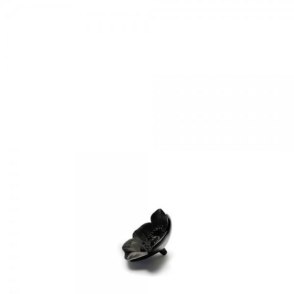 sculpture-anemone-lalique-cristal-noir