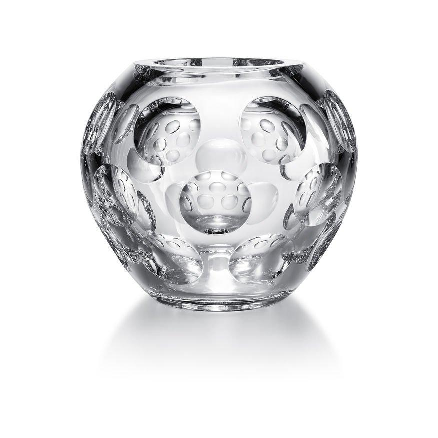 heritage vase boule pontil baccarat vessiere cristaux. Black Bedroom Furniture Sets. Home Design Ideas