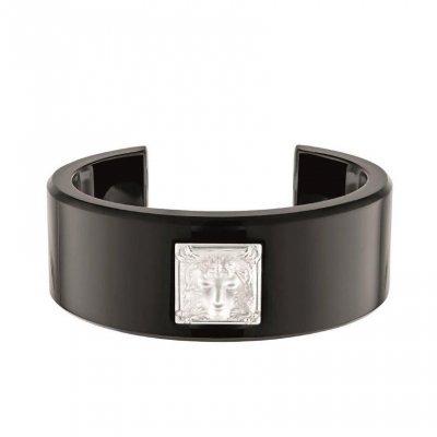 bracelet-arethuse-resine-noire-Lalique