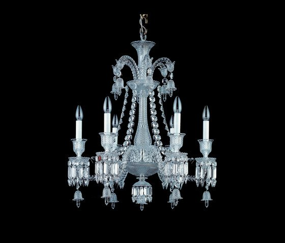z nith lustre 6 lumi res baccarat vessiere cristaux. Black Bedroom Furniture Sets. Home Design Ideas