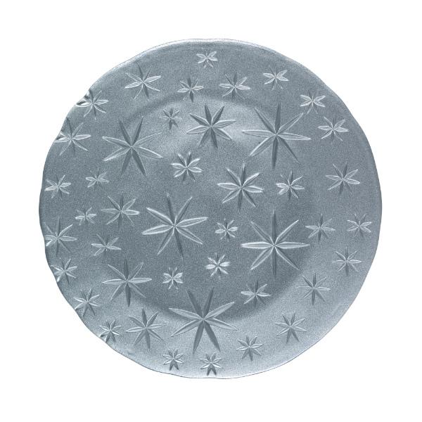 Assiette-cristal-argent