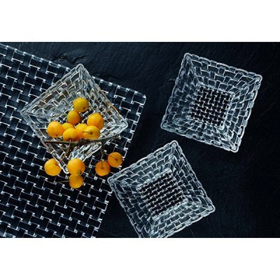 Assiette-cristal-carre-Bossa-Nova