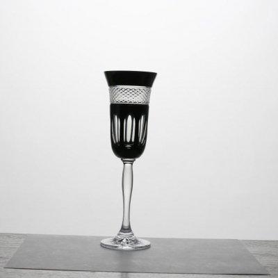Flute-cristal-clair-noir